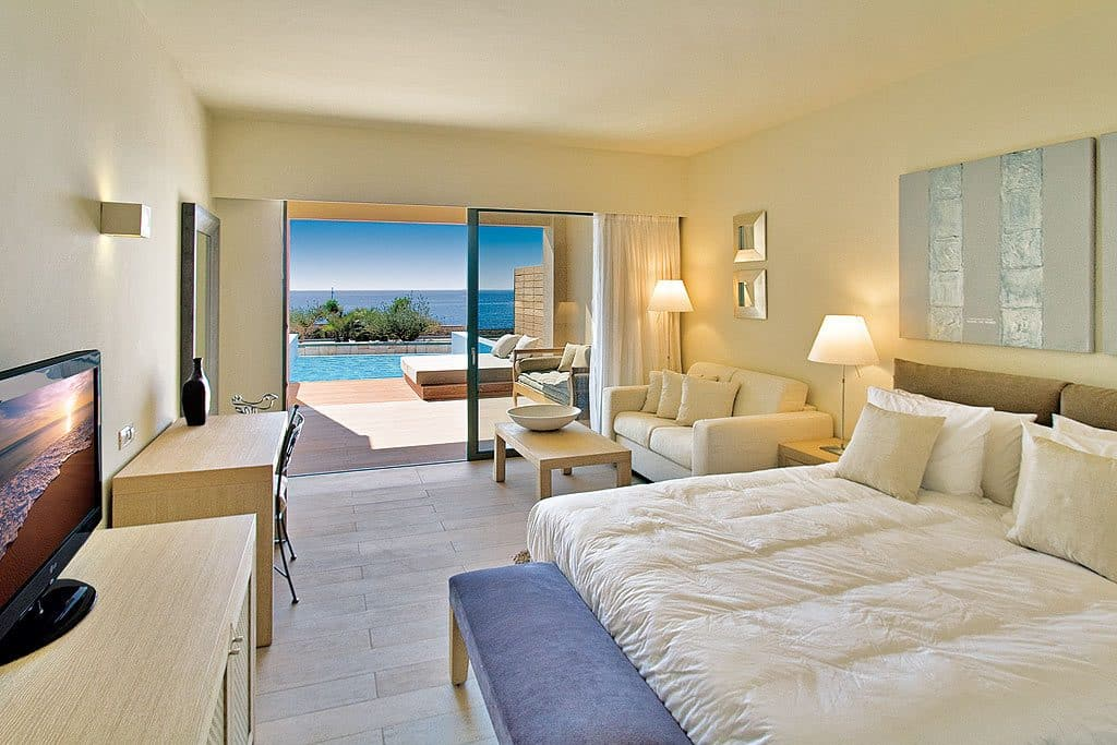 Erwachsenenhotel Aquagrand Luxus Resort & Spa, Private Pool Suite mit Meerblick