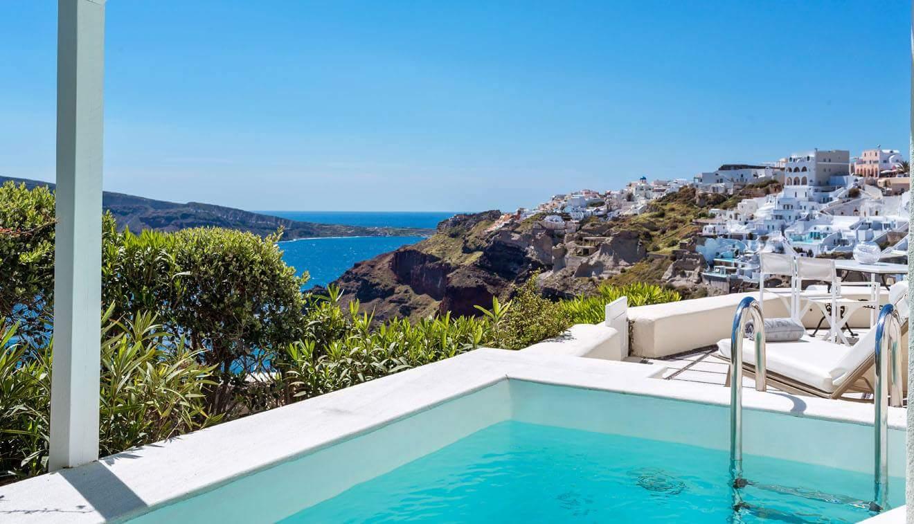 Erwachsenenhotel Griechenland Canaves Oia Hotel