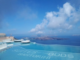 Suites of the Gods auf Santorin